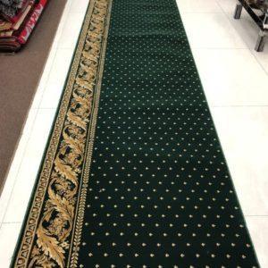 Karpet Super Mosque hijau titik