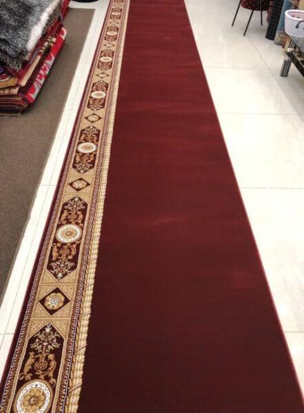 Karpet Super Mosque merah polos