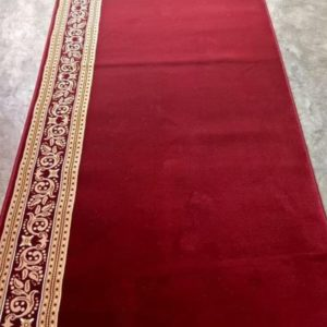 Karpet masjid new royal tebriz merah polos
