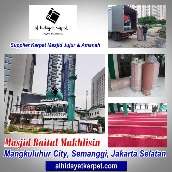 Portofolio Masjid Baitul Mukhlisin Mangkuluhur City