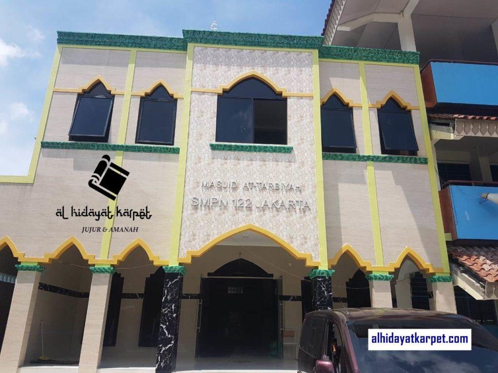 masjid at tarbiyah smpn 122 Jakarta alhidayatkarpet