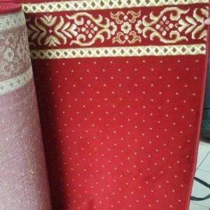 karpet masjid almira merah