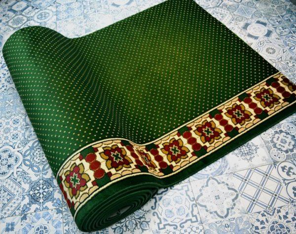 karpet masjid sultan hijau bintik