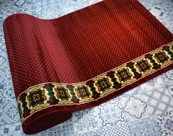 karpet masjid sultan merah bintik