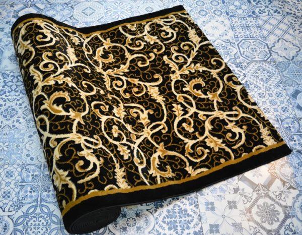 karpet masjid yafuz coklat hitam