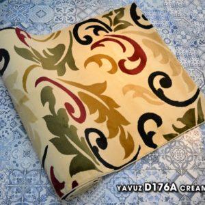 karpet masjid yafuz cream motif