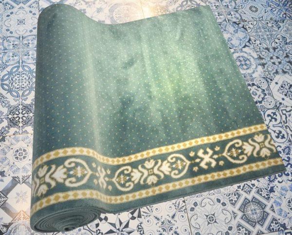 karpet masjid yafuz hijau motif bintik5