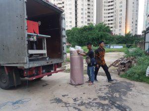 truk karpet masjid tiba di masjid2