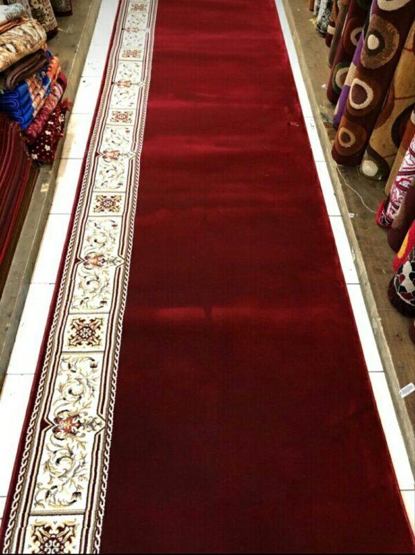 Karpet Masjid Masterpice Hijau Merah