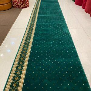 Karpet Masjid Sahara Hijau bintik