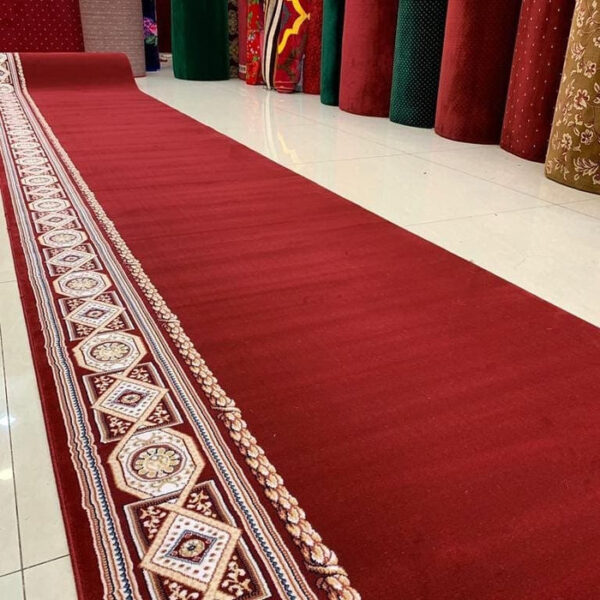 Karpet Masjid Super Royal Merah Polos