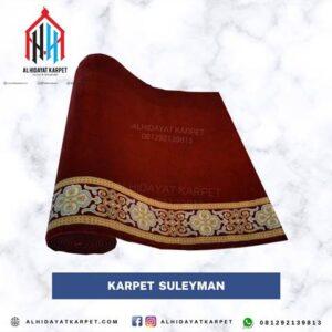 Karpet masjid turki Suleyman merah
