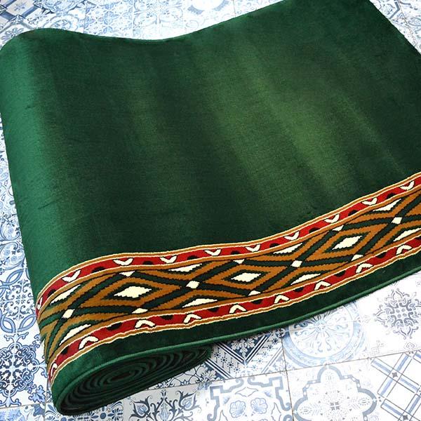 karpet masjid istiqlal hijau motif3
