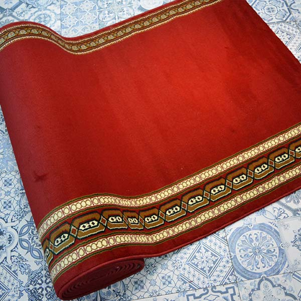 karpet masjid istiqlal merah motif2