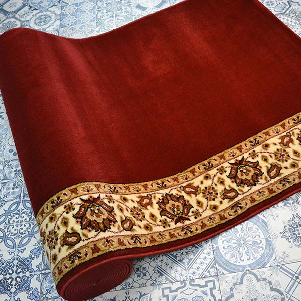 karpet masjid istiqlal merah polos