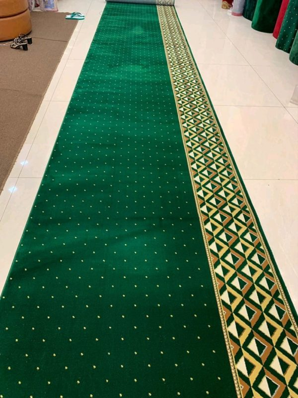 karpet masjid qatar hijau