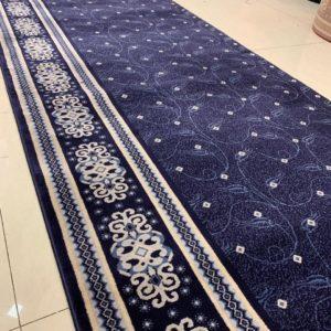 karpet masjid tajmahal biru