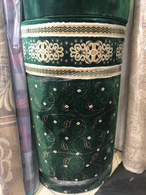 karpet masjid tajmahal hijau