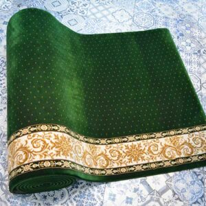 Karpet masjid Century hijau bintik