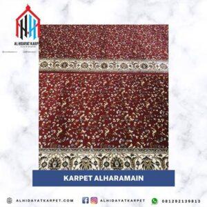 Karpet Al Haramain Merah