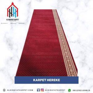 Karpet Hereke merah bintik