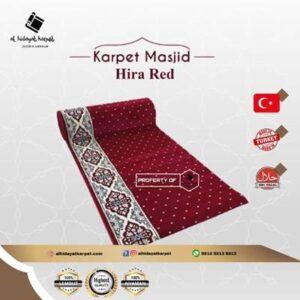 Karpet Masjid Hira Merah