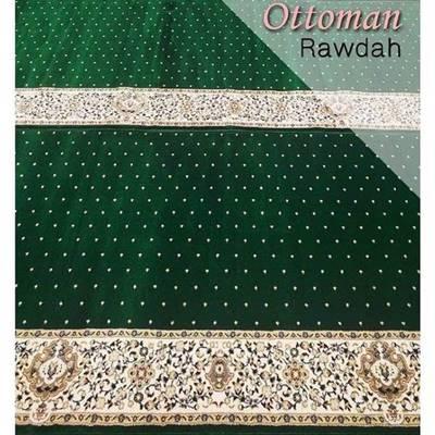 Karpet Masjid Ottoman Hijau