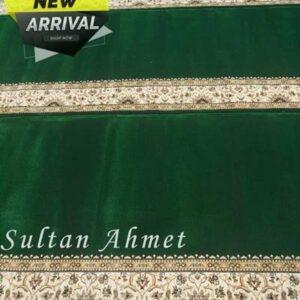 Karpet Masjid Sultan Ahmet Premier Hijau Polos