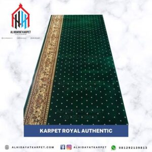Karpet Royal Authentic Hijau Bintik