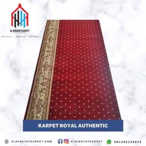 Karpet Royal Authentic Merah Bintik