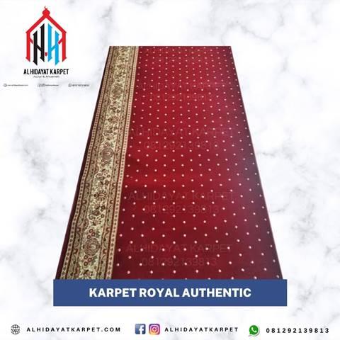 Karpet Royal Authentic Merah Bintik