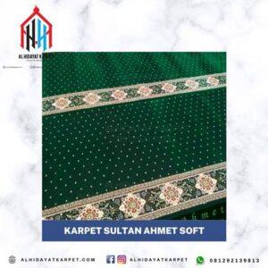 karpet masjid sultan ahmet sof hijau bintik