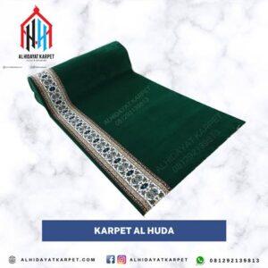 karpet masjid turki al huda hijau