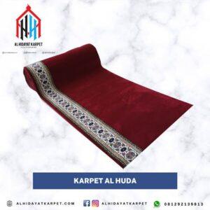 karpet masjid turki al huda merah