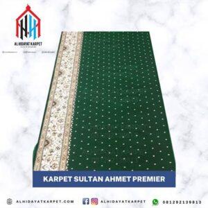 karpet sultan ahmet hijau bintik