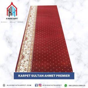 karpet sultan ahmet merah bintik