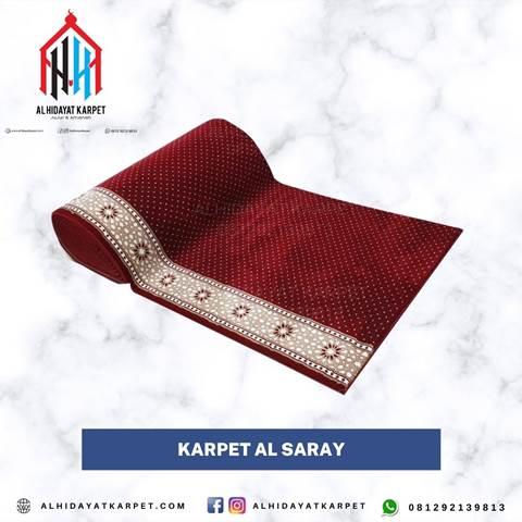 karpet turki al saray merah bintik