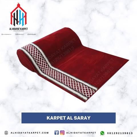 karpet turki al saray merah polos