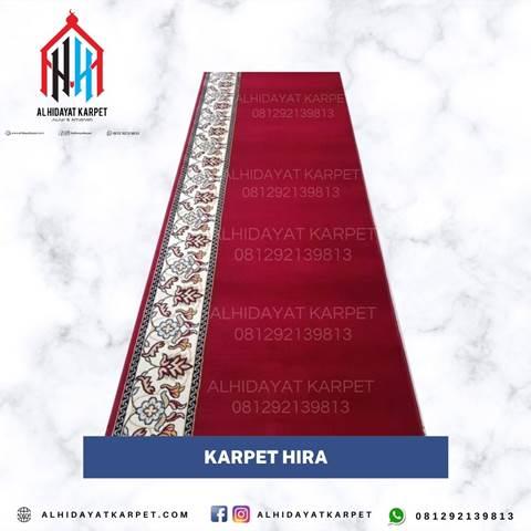 karpet turki hira merah polos