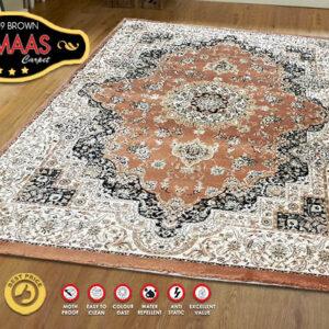 ALMAAS 4639 BROWN 120X170