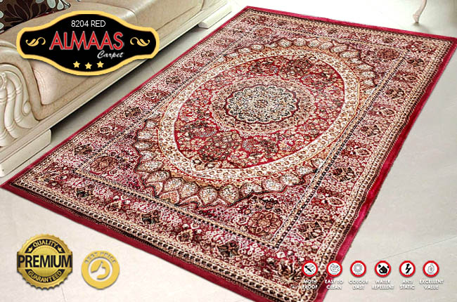 ALMAAS 8204 RED 120X170