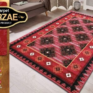 MIRZAE 02 MAROON 100X150 [NEW CLASSIC DESIGN]
