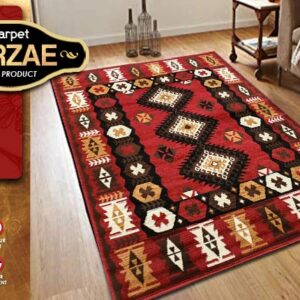MIRZAE 07 MAROON 100X150 [NEW CLASSIC DESIGN]