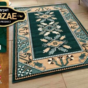 MIRZAE 08 GREEN 100X150 [NEW CLASSIC DESIGN]