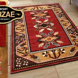 MIRZAE 08 MAROON 100X150 [NEW CLASSIC DESIGN]