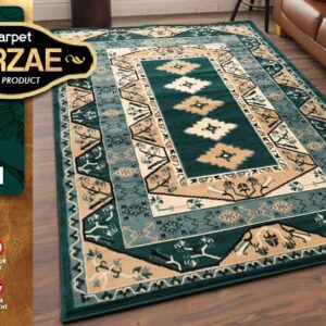 MIRZAE 14 GREEN 100X150 [NEW CLASSIC DESIGN]