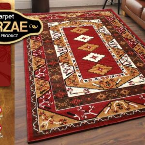 MIRZAE 14 MAROON 100X150 [NEW CLASSIC DESIGN]