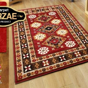 MIRZAE 15 MAROON 100X150 [NEW CLASSIC DESIGN]
