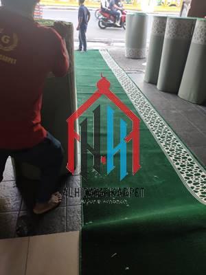 karpet masjid turki Mirac siap kirim ke Sulawesi Tanggara
