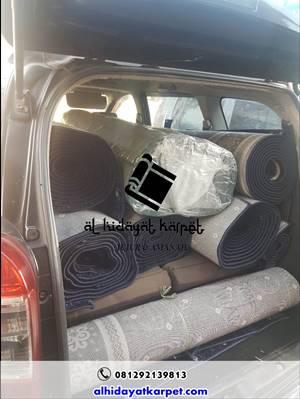 karpet siap di kirim ke mushola el fairuz Ciputat Tangerang2